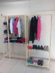 Conjunto closet + Arara em promoção