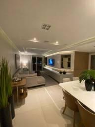 Apartamento de alto padão todo mobiliado (3 suítes)