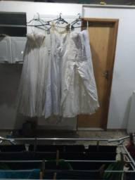 16 de Vestidos de noiva 9 madrinha e 5 veu