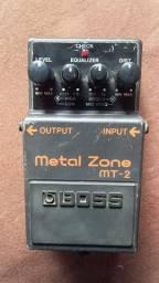Pedal Boss Mt2 Metal Zone Distortion