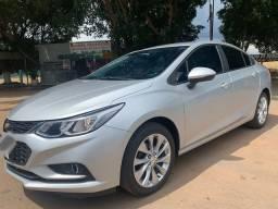 Chevrolet Cruze 1.4 LT turbo flex 2017 prata