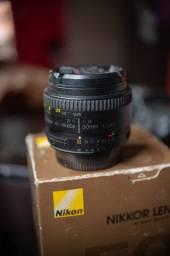 Lente 50mm 1.8D Nikon