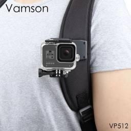 GoPro assessórios grampo jacaré 360°