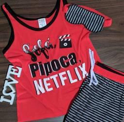 Pijama Feminino Coleção 2021 Vários Modelos