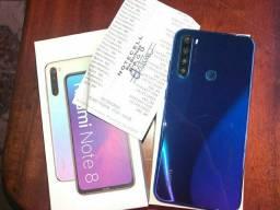 Celular Xiaomi redmi note 8 (R$1350 pra vender logo)