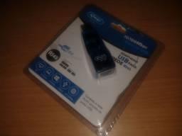 Adaptador Rede USB - RJ45 10/100