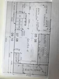 Galpão 156 m² com 172 m² de almoxarifado