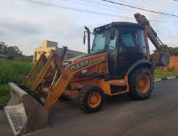 Retro Escavadeira Case 580n 2017