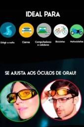 Óculos Para Visão Noturna Polarizado Anti Reflexo /uv/poeira