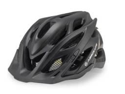 Capacete com LED para bike/bicicleta/ciclismo/trilha/mtb/speed/esporte