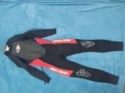 Roupa de  surf/mergulho mormaii 3 x 2  Extra Line Tamanho M