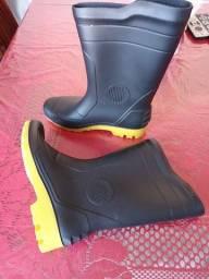 Par bota motoboy para chuva