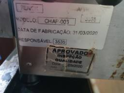 CHAPA DE LANCHE USADA