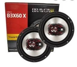 Auto falante Bravox 4/5/6 polegadas(Novo)