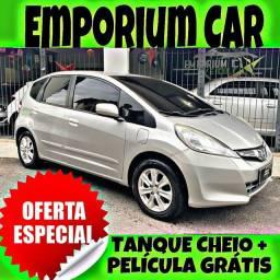 SO MA EMPORIUM CAR!!! HONDA FIT 1.4 LX ANO 2014 COM MIL DE ENTRADA