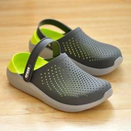Crocs - Unisex Literide - Green/ grey ( Última unidade 40/41 )