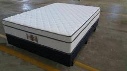 Cama Box Casal Double Flex 1,38x1,88 - Reconflex
