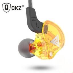 Fone Qkz Ak6 Gamer Monitor Palco Mic