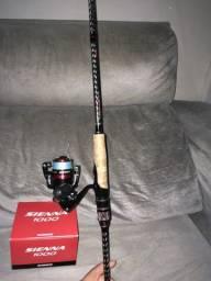 Vendo conjunto top de pesca