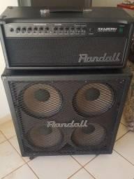 Amplificador Randall RX Series RX120RH 120W + Caixa 4 x 12 200W