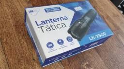 Lanterna Tática Recarregável Super Forte (Famosa X900)