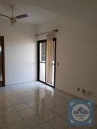 Apartamento com 3 dormitórios para alugar, 120 m² por R$ 3.200,00/mês - Gonzaga - Santos/S