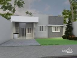 Título do anúncio: Casa com 3 dormitórios sendo 1 suíte à venda, 80 m² por R$ 250.000 - Jardim Paulista III -