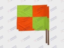 Bandeirola de Sinalização Quadriculada