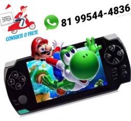Mini Game Nova Portátil Player Mp3 Mp4 Mp5 4000 jogos só Zap