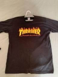 Camiseta Thrasher Preta Tam M