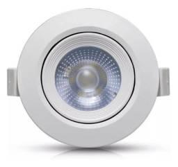 Luminaria Spot De 7w Branco Quente