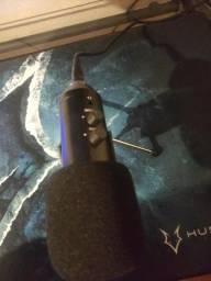 Microfone Usb Profissional, com popfilter, perfeito para gamers, podcast! novo!