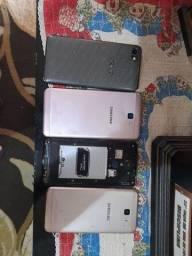 Samsung j7 Samsung j2  um alcatel um  LG