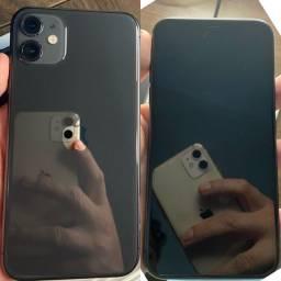 iPhone 11 64GB Preto na garantia até 03/2022