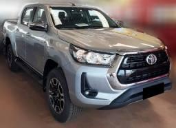 Toyota Hilux SRV 21 - 21 4x4 Diesel 0Km, Prata