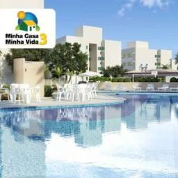 Reserva palmeiras, Apt 2 qts com 45 m², Lazer Completo, minha casa minha vida