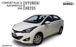 Título do anúncio: HYUNDAI HB20S 1.6 PLUS COMFORT AUTOMÁTICO COMPLETO 2015