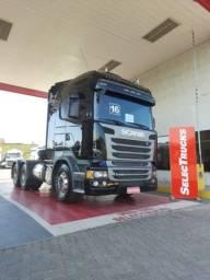 Título do anúncio: Scania R440 6x4 2016 Streamline com retarder Selectrucks
