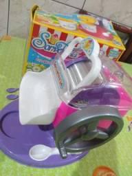 Máquina de fazer sorvete infantil