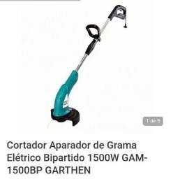 Cortador Aparador de Grama GARTHEN 1500w 220v