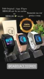 Relógio Inteligente Y68 Original - R$90,00