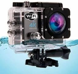 Câmera Sports Cam Ultra Pro Full Hd 4k Sport Ação A Prova D'água