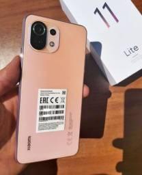 "Smartphone Xiaomi Mi 11 Lite 64GB 6GB RAM Tela 6.55"" Global Lacrado SUPER LANÇAMENTO"