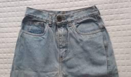 calça jeans mom 36 - não vivo sem