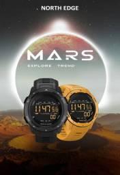 Relógio de Pulso - North Edge - Esporte Mars Á Prova D'água Esporte