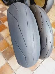 pneu para hornet, cbr600rr,kawasaki zx10r,srad1000rr,z1000,mt09,R6, bandit ,cb1000r
