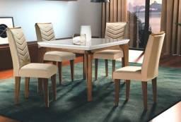 Mesa Londrina 4 cadeiras - Entrega Imediata!!!!