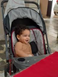 Vendo Carrinho de Bebê e Bebe Conforto Com Suporte Galzerano