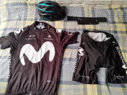 Conjunto roupa para MTB (Tamanho M)