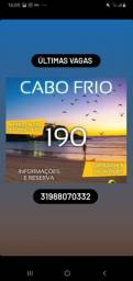 Viagem Cabo frio